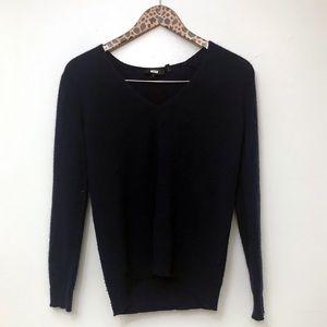 Theory cashmere V-neck sweater Sz S